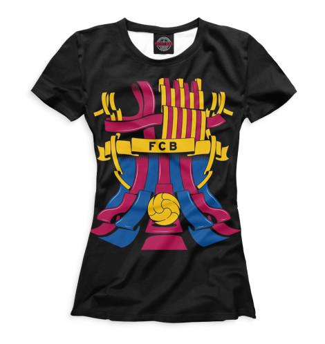 Женская футболка FCB