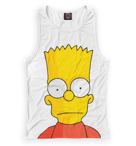 Женская майка-борцовка Барт