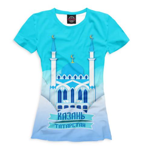 Женская футболка Казань