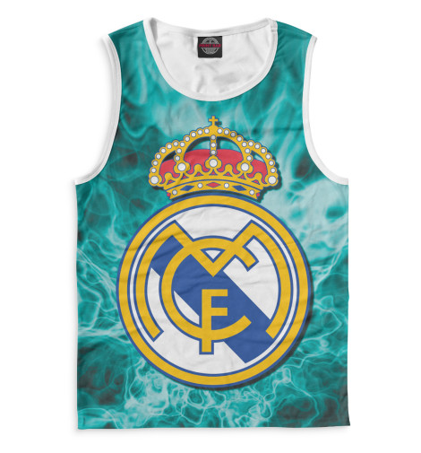 Мужская майка Герб Real Madrid