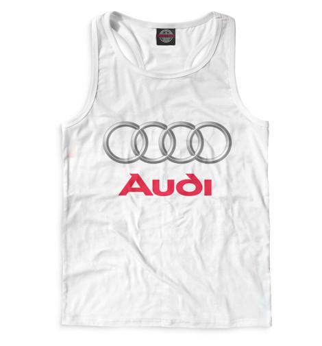 Мужская майка-борцовка Audi