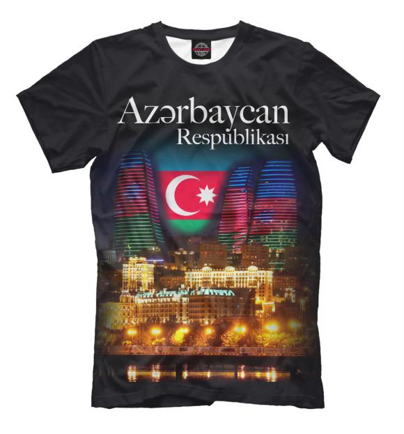 Мужская футболка Азербайджанская Республика