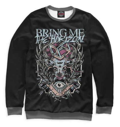 Мужской свитшот Bring Me The Horizon Print Bar BRI-546523-swi