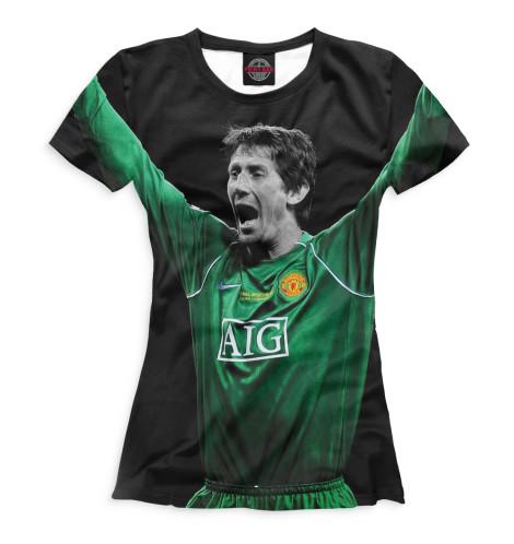 Женская футболка Эдвин ван дер Сар