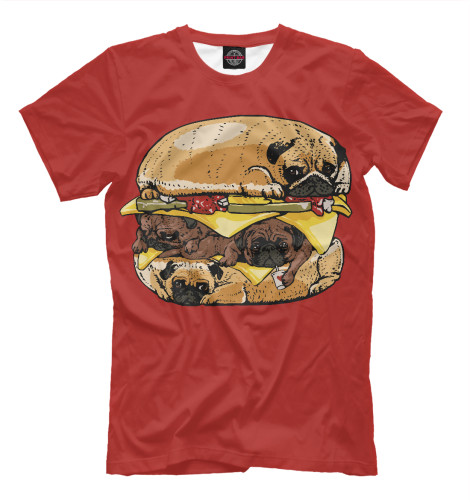 Купить Футболка для мальчиков Dog Burger EDA-946534-fut-2