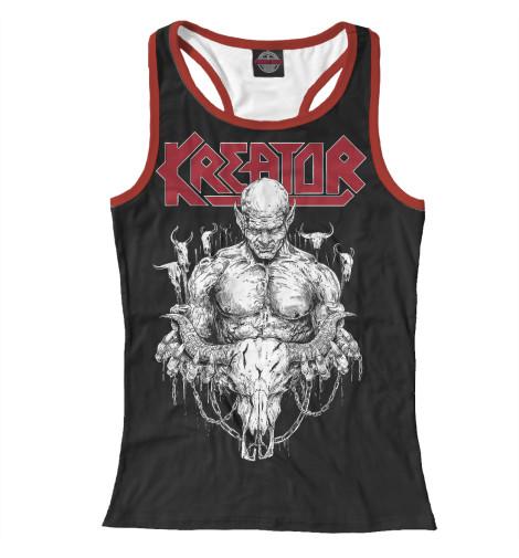 Майка борцовка Print Bar Kreator - thrash metal band майка борцовка print bar ангус янг соло гитарист