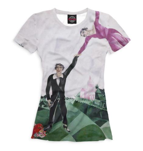 Женская футболка Прогулка