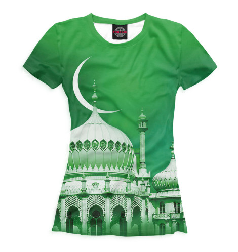 Купить Футболка для девочек Мечеть ISL-325372-fut-1