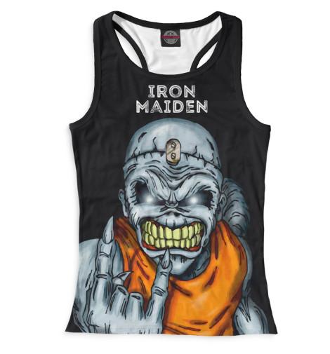 Женская майка-борцовка Iron Maiden