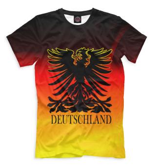 3008c92bdc5e Футболки Германия - купить футболки с принтом, надписями и флагом ...