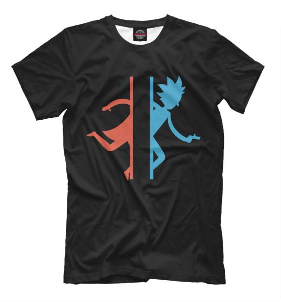 Купить Мужская футболка Рик и Морти RNM-442913-fut-2