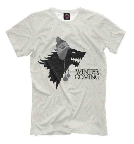 Футболка Print Bar Winter`s Coming winter s tale