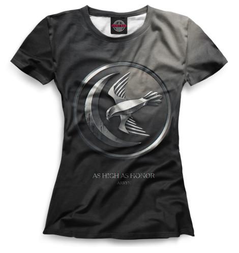 Женская футболка Символ Арренов