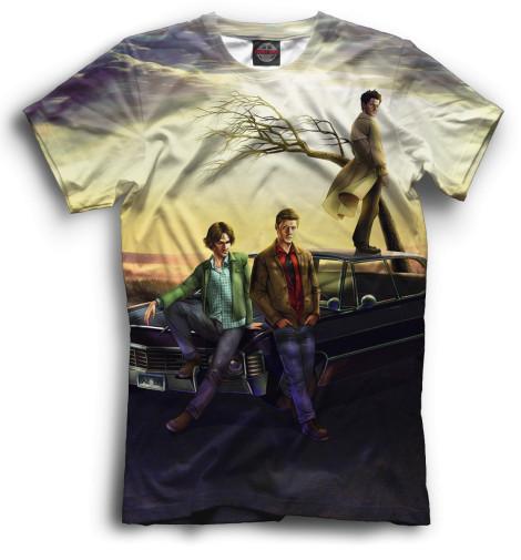 Мужская футболка Сверхъестественное