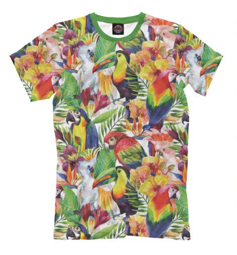 Футболка Print Bar Попугаи шорты print bar попугаи