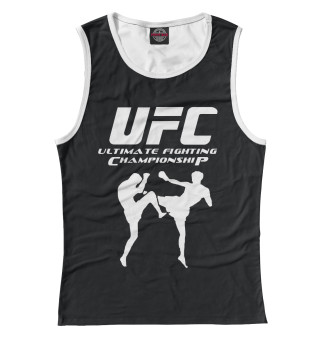 Женская майка Ultimate Fighting Championship
