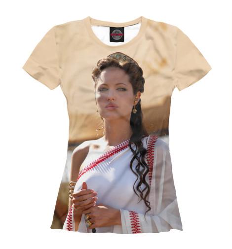 Футболка Print Bar Александр — Анджелина Джоли футболка классическая printio анджелина джоли