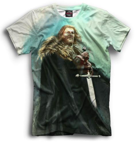 Мужская футболка Эддард Старк