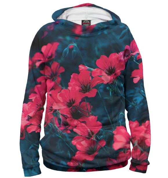 Купить Мужское худи Цветы CVE-524108-hud-2