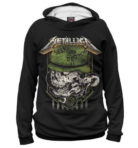 Худи Print Bar Metallica Seek and Destroy metallica metallica monsters of rock broadcast moscow russia 1991