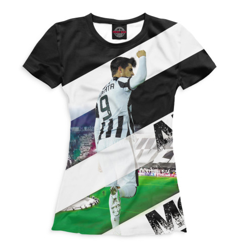 Женская футболка Мората