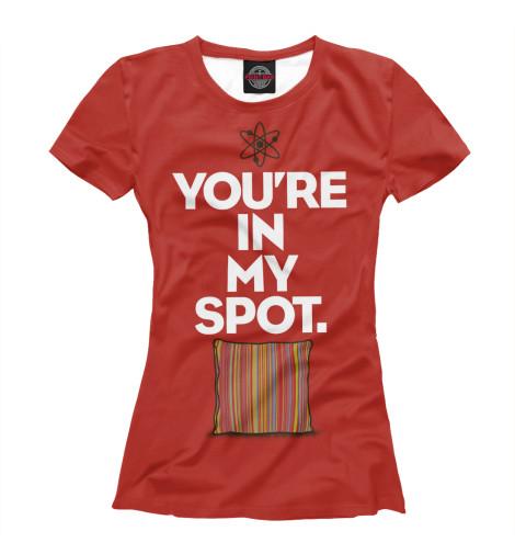 Купить Футболка для девочек You are in my Spot TEO-930463-fut-1