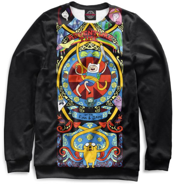 Купить Мужской свитшот Adventure Time ADV-939362-swi-2