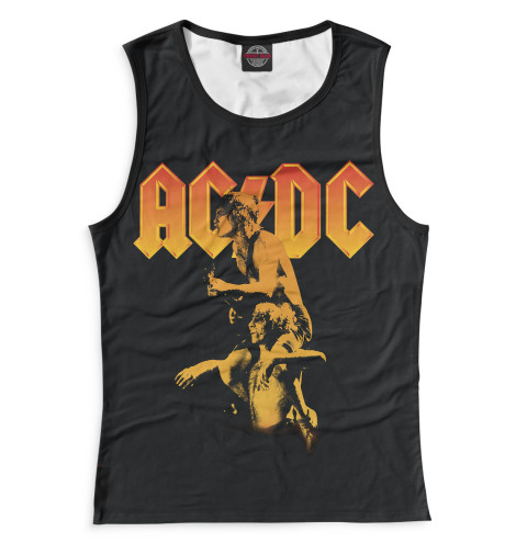 Женская майка AC/DC