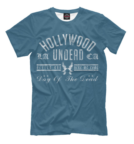 Футболка Print Bar Hollywood Undead DOTD logo5 худи print bar hollywood undead logo4