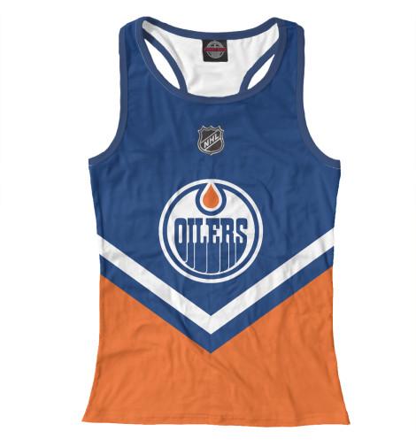 Майка борцовка Print Bar Edmonton Oilers худи print bar edmonton oilers