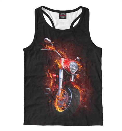 Майка борцовка Print Bar Огненный чеппер футболка print bar real огненный лого