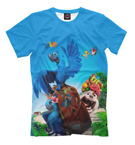Купить Мужская футболка Rio MFR-249603-fut-2