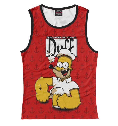 Купить Женская майка Duff Beer SIM-233754-may-1