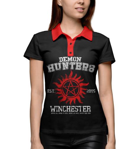 Поло Print Bar Demon Hunters футболка print bar demon hunters