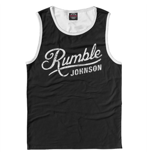 Майка Print Bar Rumble Johnson rumble roses xx купить спб