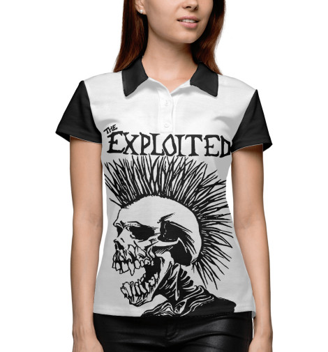 Поло Print Bar The Exploited the exploited the exploited apocalypse tour 1981 limited edition lp