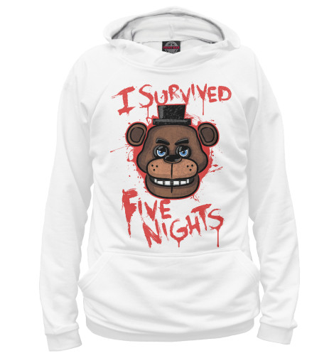 Худи Print Bar Five Nights at Freddy's подушка printio five nights at freddy s файф найт эт фредди