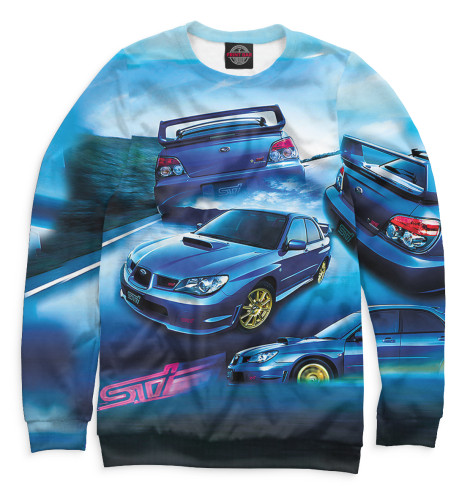 Свитшот Print Bar Subaru свитшоты dappe свитшот