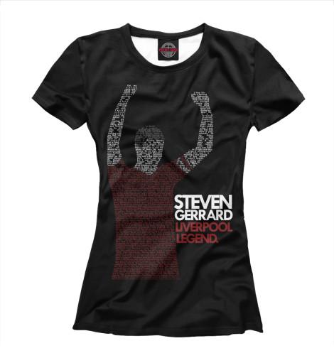 Футболка Print Bar FC Liverpool Steven Gerrard футболка print bar fc liverpool