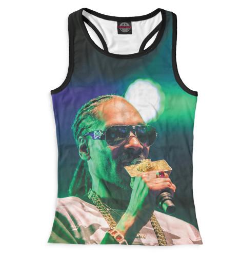 Женская майка-борцовка Snoop Dogg