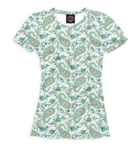 Женская футболка Узор бута