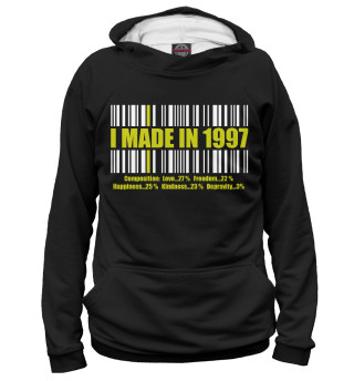 Женское худи I MADE IN 1997