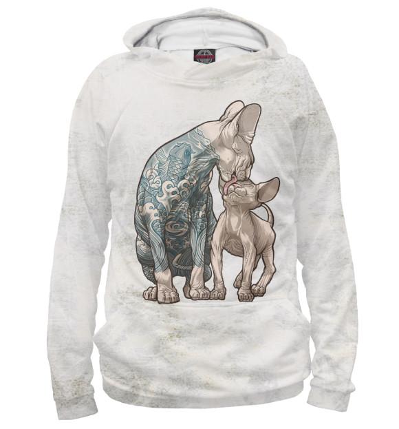 Купить Худи для мальчика Коты CAT-900837-hud-2