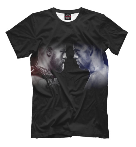Футболка Print Bar Conor McGregor vs. Nate Diaz футболка metal mulisha nate diaz tee huntergrey