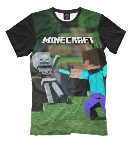 Купить Мужская футболка Minecraft MCR-835180-fut-2