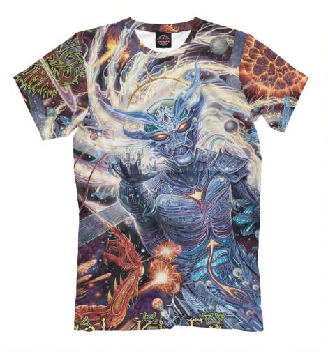 Купить Мужская футболка Rings of Saturn MZK-644942-fut-2