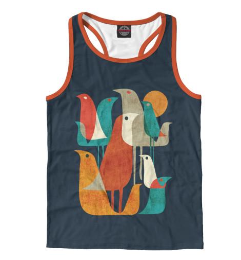 Купить Майка для мальчика Осенние птицы PTI-179277-mayb-2