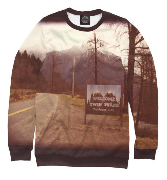 Мужской свитшот Welcome to Twin Peaks TPS-818166-swi-2  - купить со скидкой