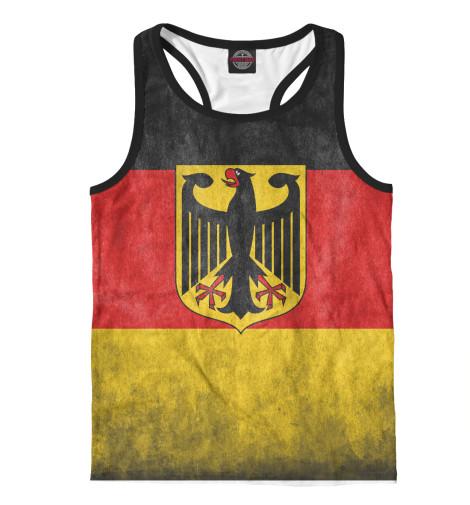 Майка борцовка Print Bar Флаг Германии свитшот print bar флаг германии