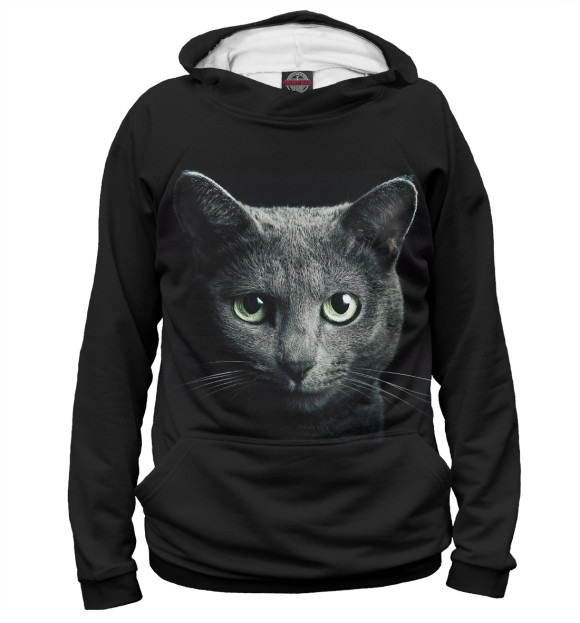 Купить Женское худи Кот CAT-706658-hud-1